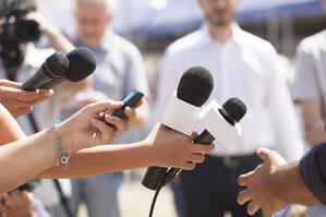 Handling the press is important for getting the best results from media coverage.