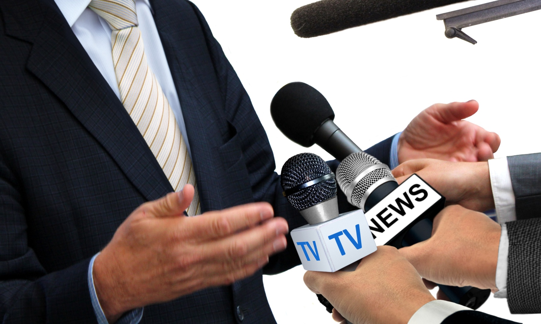 Doing a pre-interview can help you reduce the pressure involved with fielding questions from reporters.