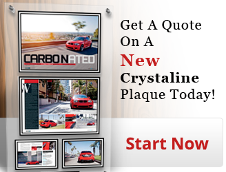 Start Your Crystaline Plaque Today!
