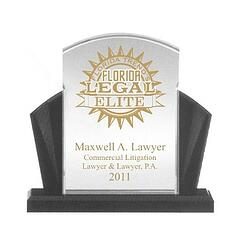 lucite award