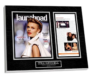 Show everyone your passion for fashionable hairstyles with a Paul Mitchell Plaque