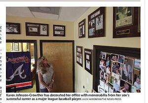 Create your own wall of trophies to celebrate that special person in your life