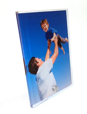 Unbreakable picture frame