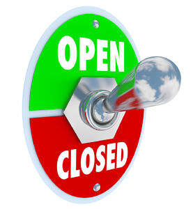 Don't leave potential customers wondering if you're open or closed.