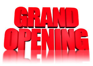 Get your business ready for the first day of business with a grand opening package.