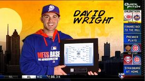 Say hello to the face of Major League Baseball for 2014, and the plaque that proves it.