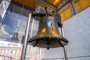 Marti grew up admiring relics of American history such as the Liberty Bell.