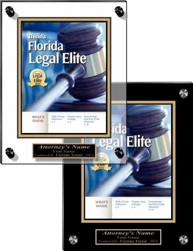 Florida Trend Legal Elite 2018 Acrylic Covers-1